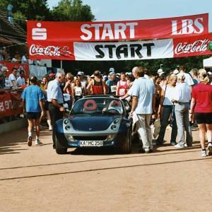 Start Nachtlauf 2003