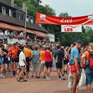 Ziel Nachtlauf 2005