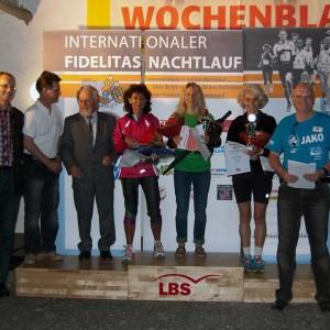 Siegerinnen Nachtlauf 2011