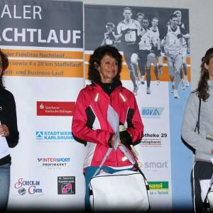 Siegerinnen Marathon 2012