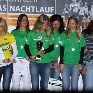 Siegerinnen Staffel 2012