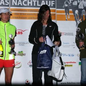 Siegerinnen Nachtlauf 2012