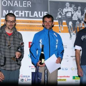 Sieger Nachtlauf 2012