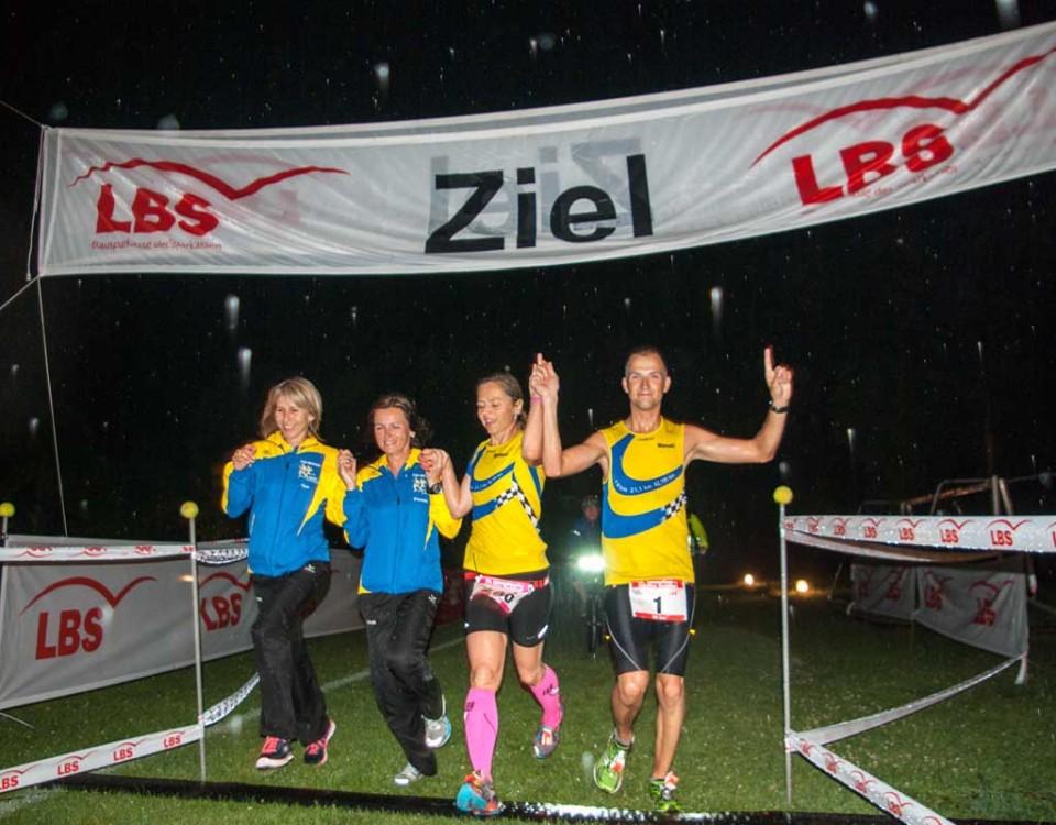 Ziel Nachtlauf 2014
