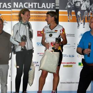 2. und 3. Siegerin 80km Einzel