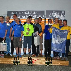 Sieger 4x20km Männer-Staffel