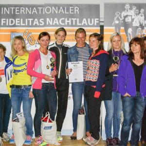 Siegerinnen 4x20km Frauen-Staffel