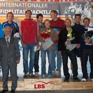 Sieger 4x20km gemischte Staffel